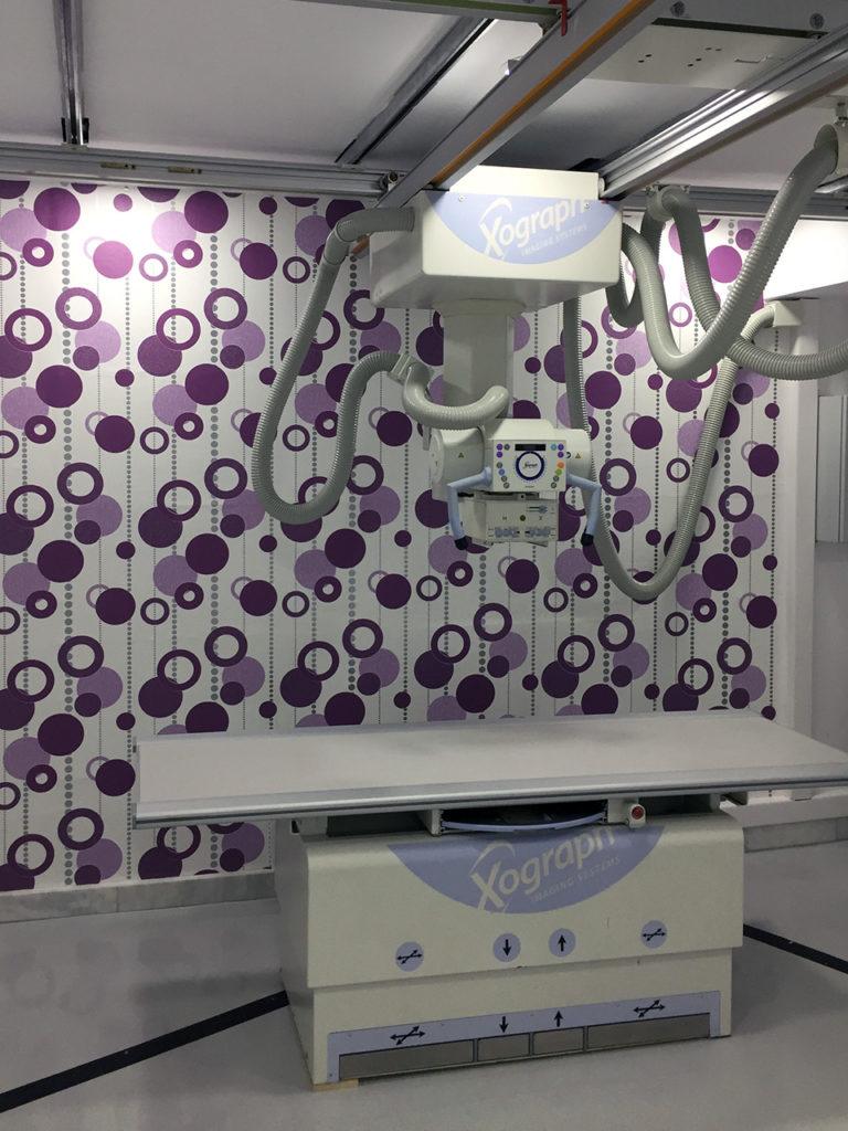 Εγκατάσταση ακτινοδιαγνωστικού εξοπλισμού