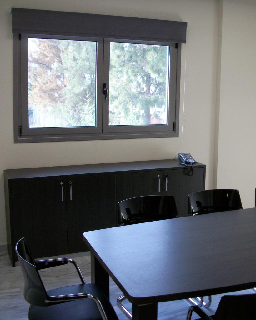 Meeting room στην εταιρεία Medical System ΕΠΕ Κρητικός Ρωμανιάς