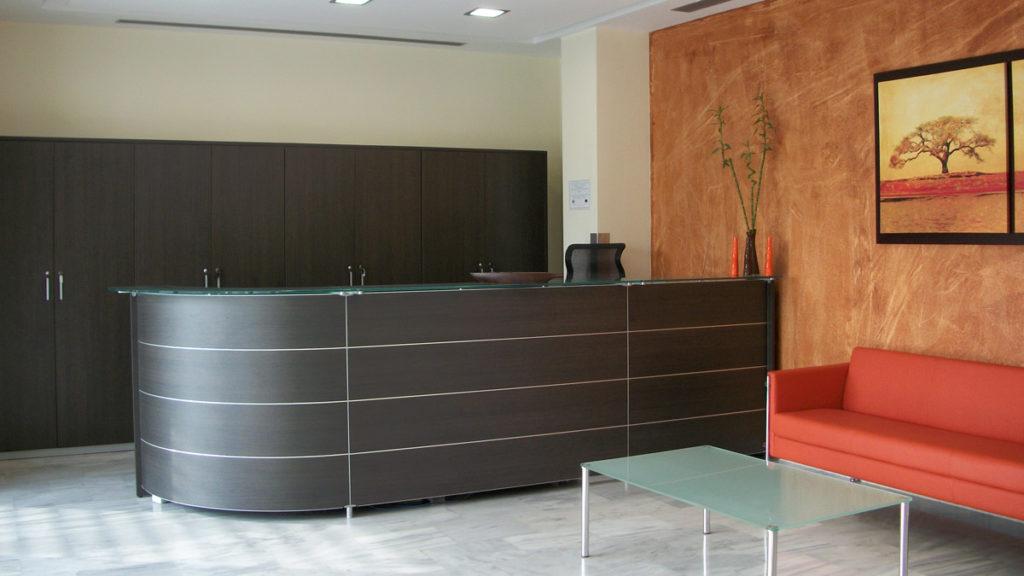 Υποδοχή στα γραφεία της εταιρείας Medical System