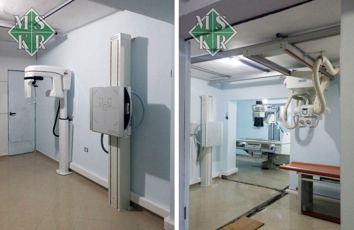 εγκατάσταση εξοπλισμού klinika logli medical systems aktinologika panoramika