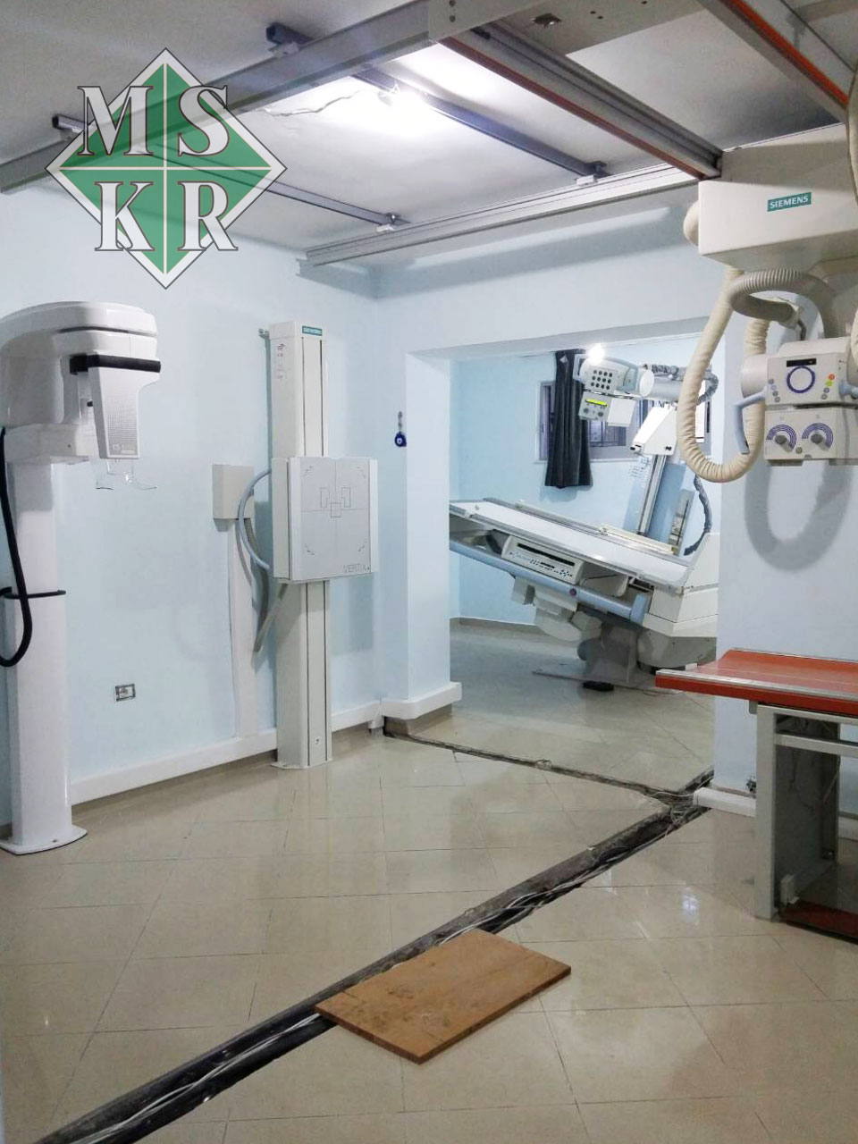 εγκατάσταση εξοπλισμού klinika logli medical systems aktinologika panoramika