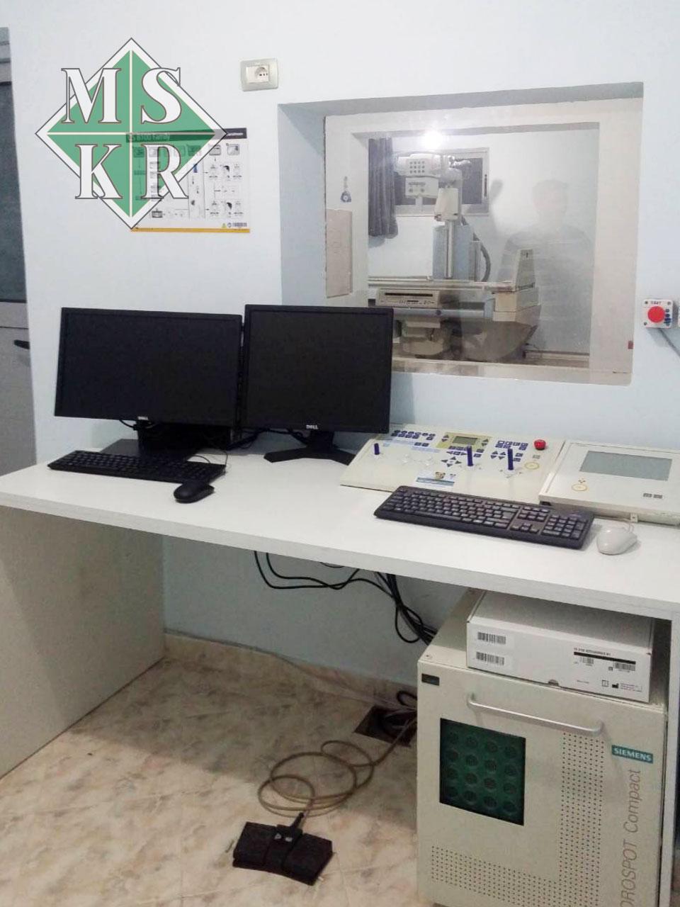 εγκατάσταση ακτινοδιαγνωστικού εξοπλισμού klinika logli medical systems aktinologika panoramika