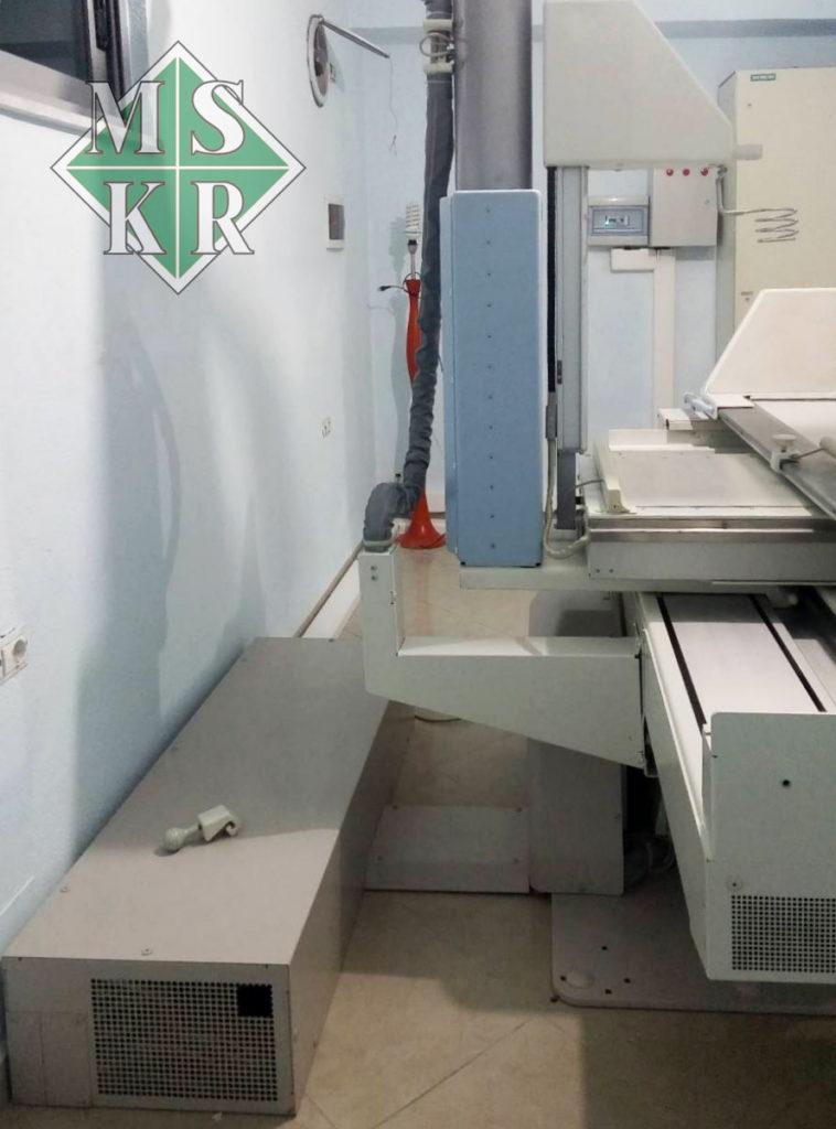 εγκατάσταση εξοπλισμού kliniki logli Albania medical systems aktinologika panoramika