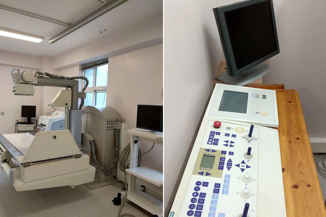 εγκατάσταση ακτινολογικού Siemens από την Medical Systems
