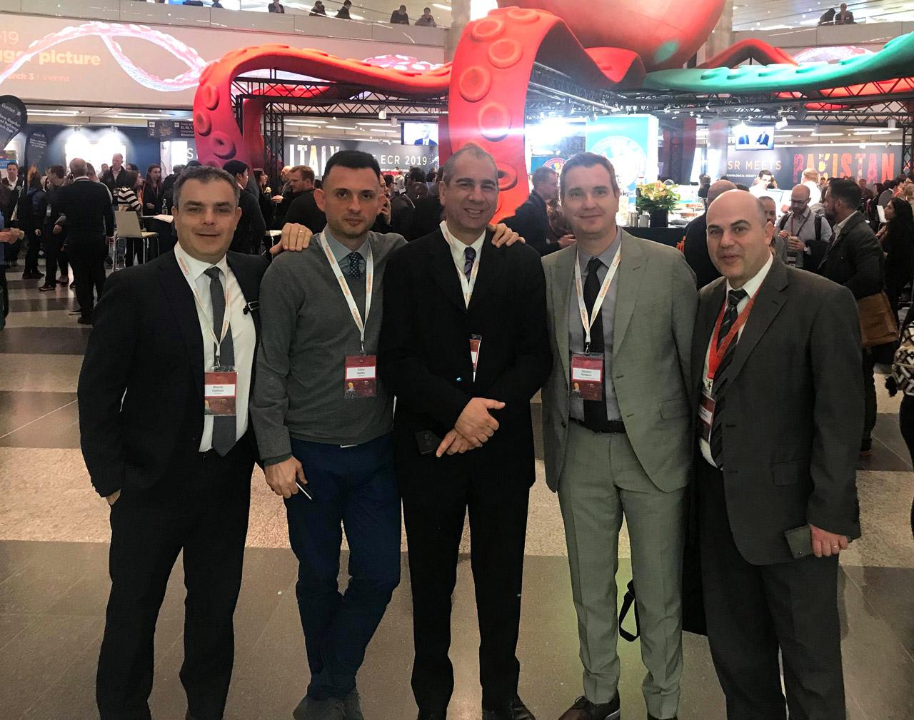 Η Medical Systems στο ECR 2019 στη Βιέννη, με στενούς συνεργάτες από την εταιρεία Iasis Technologies