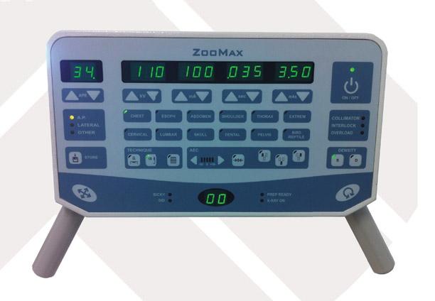 Zoomax white veterinary analog xray system console ktiniatrika aktinologika