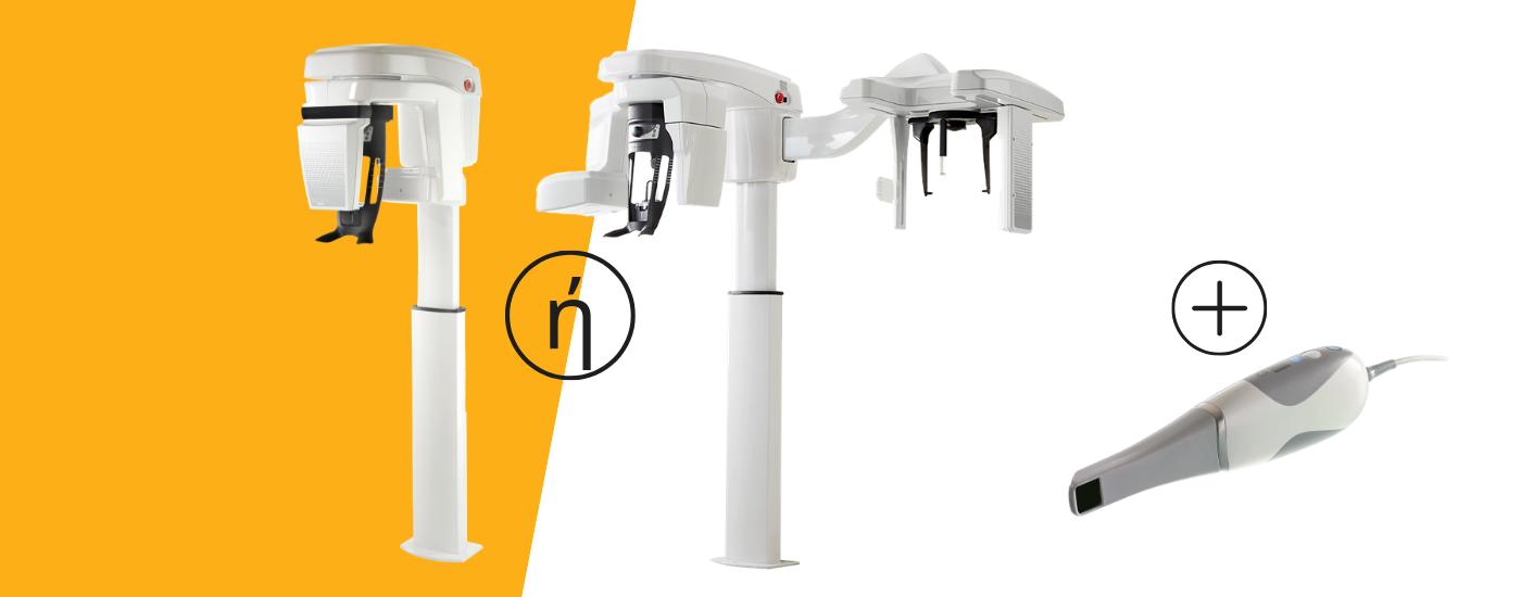 Προσφορά για ένα πανοραμικό CBCT CS8100 3D χωρίς η με κεφαλομετρικό και ένα ενδοστοματικό scanner CS3600 της Carestream Dental