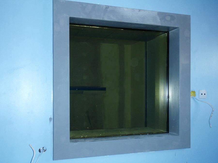 Παράθυρο ακτινοπροστασίας με μολυβδύαλο