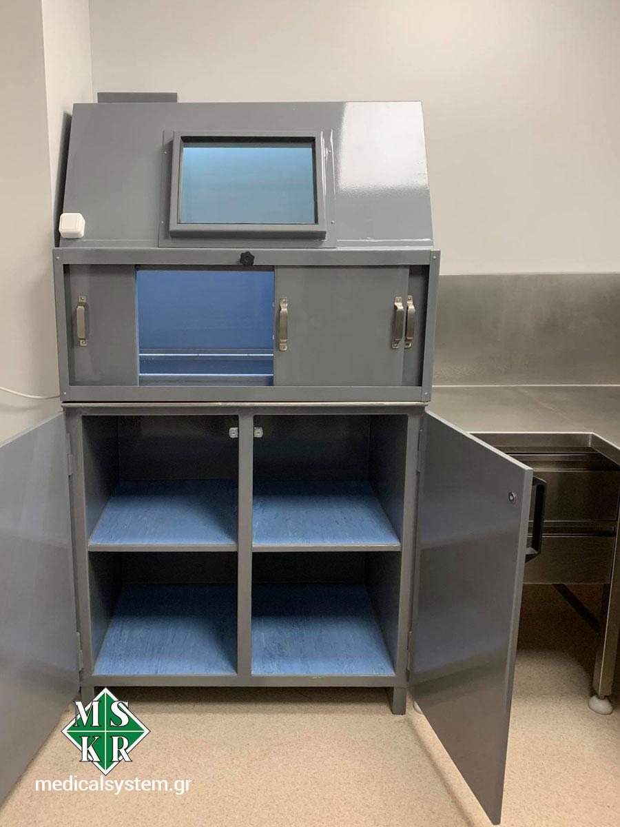 Εξοπλισμός hot lab για την παρασκευή φαρμάκων